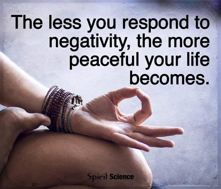 You Have the Choice to Walk Away From Negativity